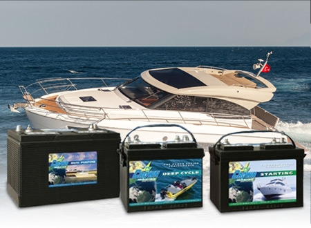 Buy Crown heavy Duty Marine Starting Batteries from Battery Life, Auckland, New Zealand